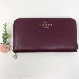 New Kate Spade Staci LG Continental Wallet